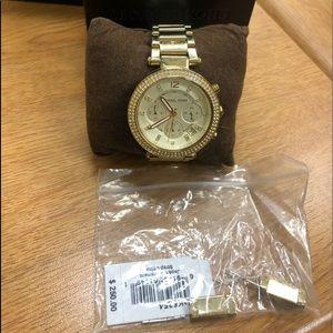 Michael Kors Glitz Wrist Watch for Women MK5354